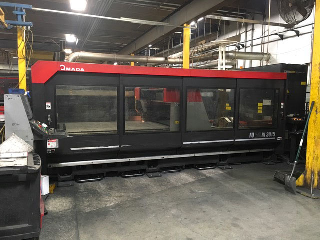 Amada-FOM2-3015RI from the side